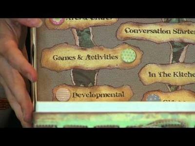 The Fun Idea Box (Step 3) - Using Tim Holtz Grunge Board
