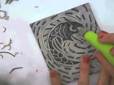 The Linocut Process