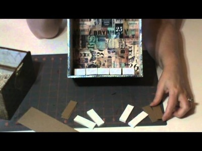 Tutorial - Create An Armoire to Display Your Small Artwork like ATCs, Tags, Domino Books, etc.