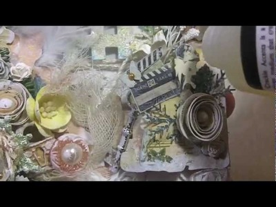 Tutorial: Shabby Chic Webster's Pages Tag!!