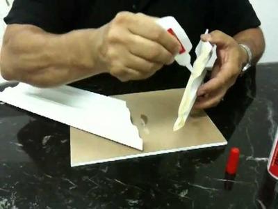 Wood Glue: Crown Molding & Cornice Trim Installation - How to join Cornice Trim & Crown Molding