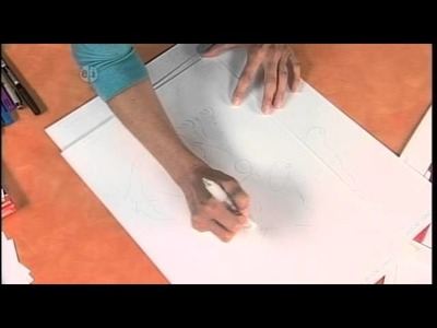 1503-2 Easy cartoon art on Hands On Crafts for Kids