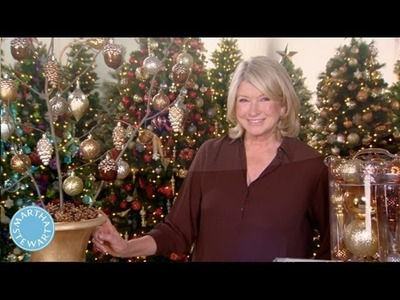 ASK MARTHA Holiday: How to Make a Branch Tree - Martha Stewart