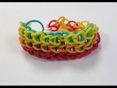 Bandaloom: How to Make a Triple Single Bracelet