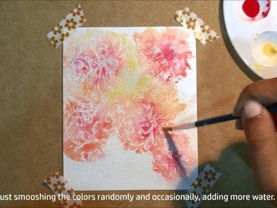 Card Making #1 - Watercolor Card