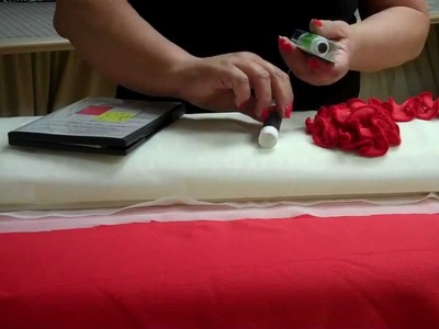 Change the feel and hang of the fabric with French fuse.