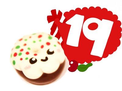 ❤ Christmas Donut! Kawaii Christmas 19 -Polymer Clay tutorial