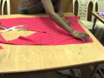 Chudidar cutting --simple and easy method.