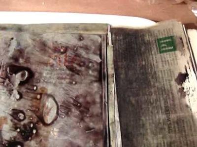 Citrasolv method of altering magazine pgs part one