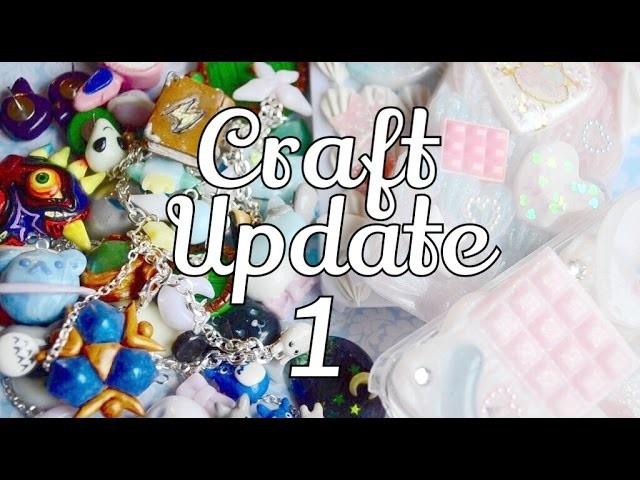 Craft Update ① ⋆ Polymer Clay & Decoden