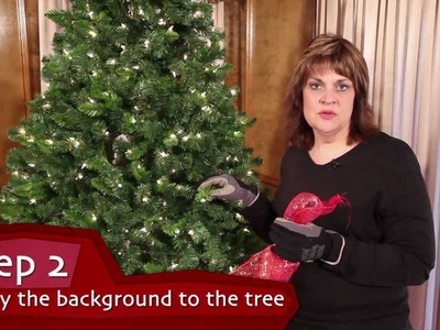 Designs With Flair | Ep. 1 | Decorating A Christmas Tree