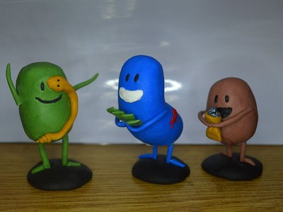 Dumb ways to die all figures polymer clay tutorial part 4