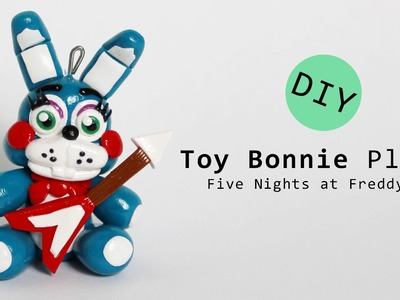 Five Nights at Freddy's 2 Toy Bonnie Plush Version Polymer Clay Tutorial