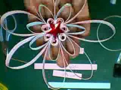 Flower Tutorial, made from cardstock, Jennings644
