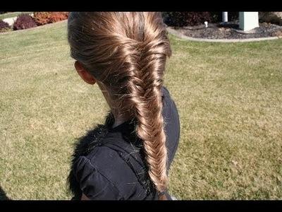 French Fishtail Braid | Long Hair | Cute Girls Hairstyles