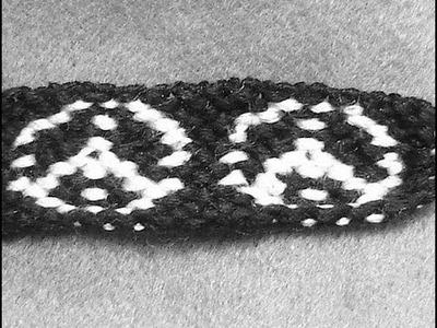 ► Friendship Bracelet Tutorial - Intermediate - The Hippie Peace Sign