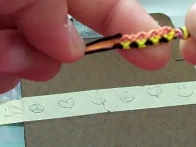 Friendship Bracelets: Ice-cream looking bracelet