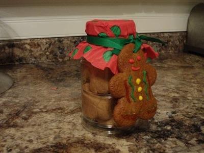 Gingerbread Playdough tutorial *Last minute gift.stocking stuffer idea!