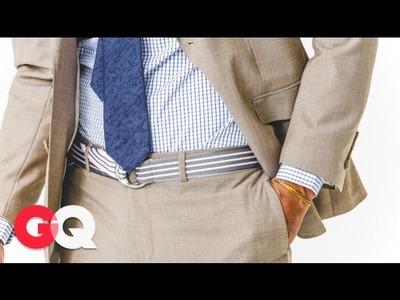 GQ Rules: The Belt Is Back - Jim Moore GQ - GQ Rules