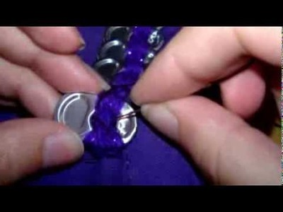 How To Add A Pop Tab Trim To A Bag