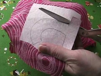 How to Applique with Fusible Adhesive