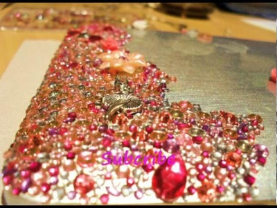 How To: Bedazzle.Bling A Laptop.Tablet PC.IPAD With Rhinestones & Swarovski Crystals (Time Lapse)