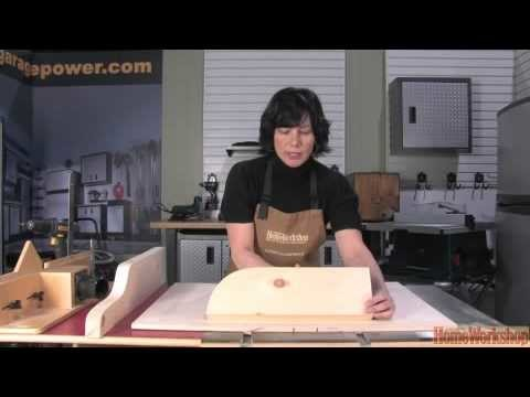 How to build a table saw sled