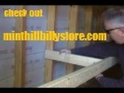 How to .  Build Shelves for your Storage Building or Garage