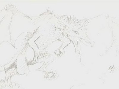 How To Draw A Mythical Dragon