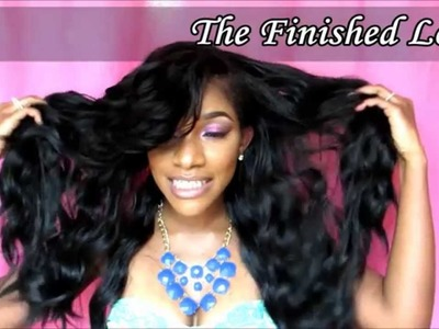 How-To: Full Deep Side Bangs on a U-Part wig in 30 Minutes!