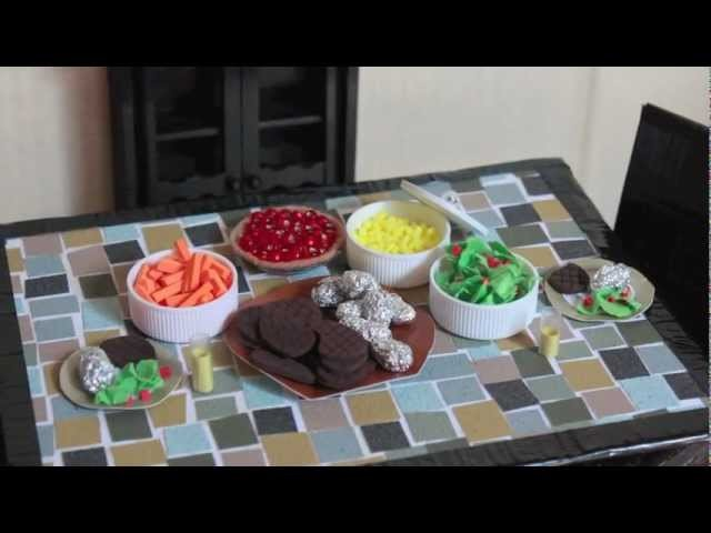 How to Make a Doll Cherry Pie