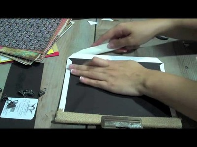 How to Make a Mini Photo Sleeve Album With Marion Smith