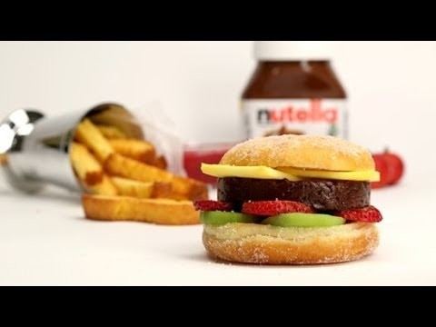 How to Make a Nutella Burger | Eat the Trend