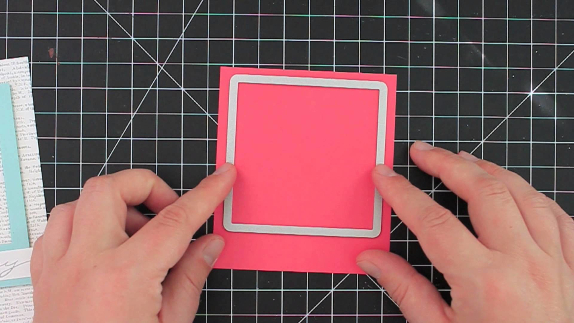 How to Make a Polaroid-Style Frame - featuring Stampin' Up! Framelits