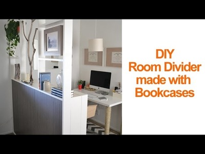 How to make a temporary room divider with IKEA Billy Bookcases - Season 2 - Ep 11