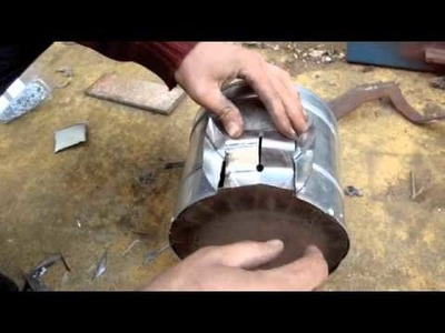 How to Make a Turbo Stove and Cook on It!
