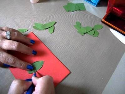 How to Make and Emboss a Paper Leaf