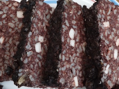 How To Make Black Pudding.Blood Sausage.