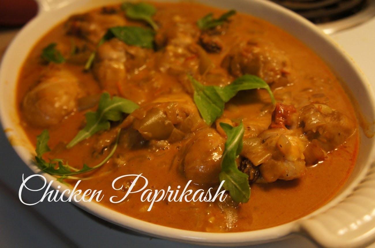 How to Make Chicken Paprikash