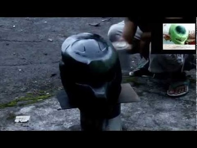 How to make predator motorcycle helmets 2