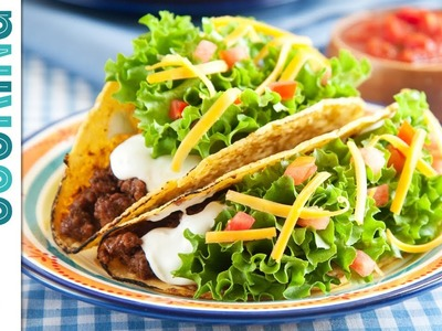 How To Make Tacos!!! - Crispy Beef Taco Recipe