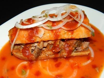 How to make Tortas Ahogadas