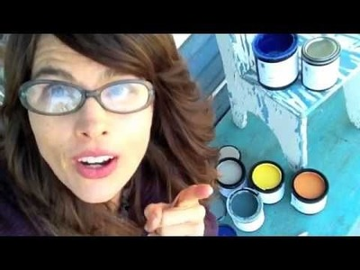 How to paint and distress furniture, CeCe Caldwell vs Annie Sloan chalk paint