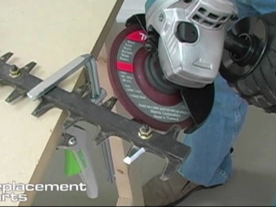 How to Sharpen Hedgetrimmer Blades