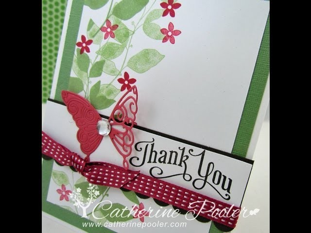 How to use Border Punches for Card Making - Catherine Pooler