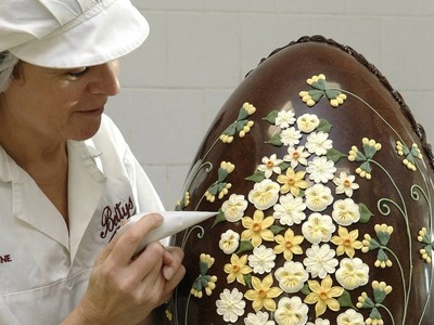 How we make our giant Imperial Easter Eggs