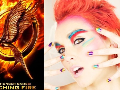 HUNGER GAMES: CATCHING FIRE MAKE-UP TUTORIAL