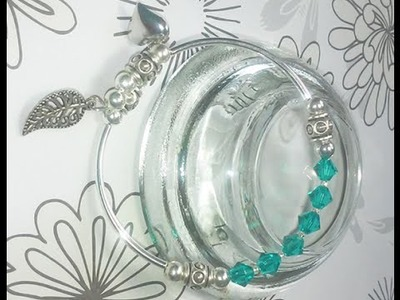 Jewelry Making Made Easy # 2   Memory Wire Bangle Bracelet