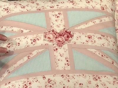 Make a Union flag cushion with Anne Baxter Taster Video