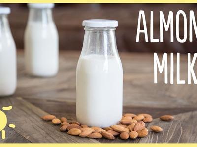 MEG | Homemade Almond Milk in 3 Easy Steps